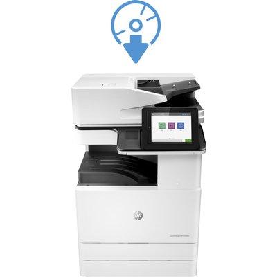 HP LaserJet Managed E825z flow MFP Engine