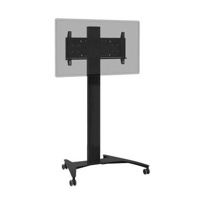 Verrijdbare trolley (zwart) voor beeldschermten t/m 86-inch