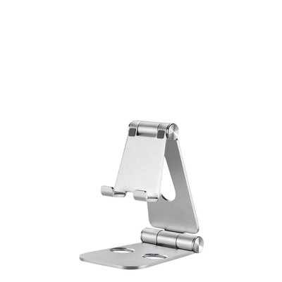 Telefoonstandaard Neomounts DS10160SL1 opvouwbaar Zilver