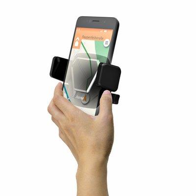 Smartphonehouder Hama Comfort Vent universeel Zwart