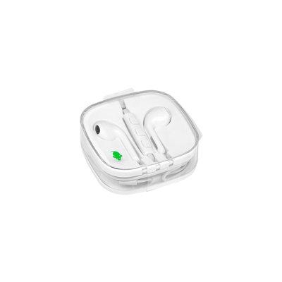 Oortelefoon Green Mouse met 3.5mm jack aansluiting