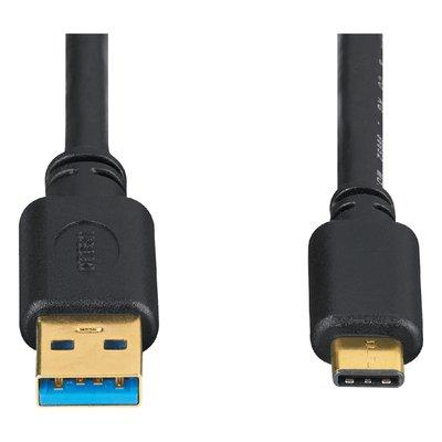 Kabel Hama USB C-A 3.1 1.80 meter zwart