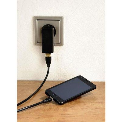 Kabel Hama USB Micro-A 2.0 1.8 meter zwart