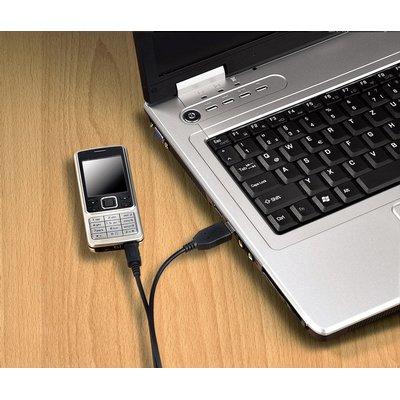 Kabel Hama USB Micro-A 2.0 1 meter zwart