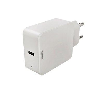 Oplader Hama USB-C 1x 18W wit