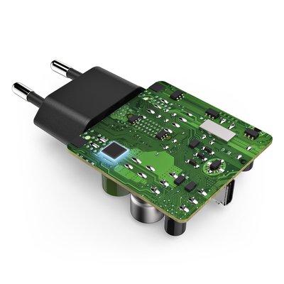 Oplader Hama USB-C 18W 1,5 meter zwart