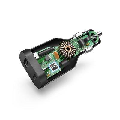 Autolader Hama USB-C notebook 5-20V/70W zwart