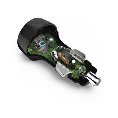 Autolader Hama USB-C 18W 1,5 meter zwart
