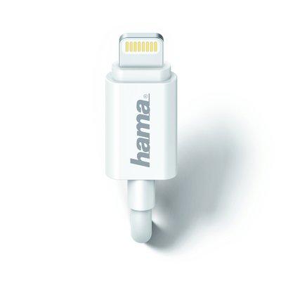 Autolader Hama Lightning 1A 1 meter wit