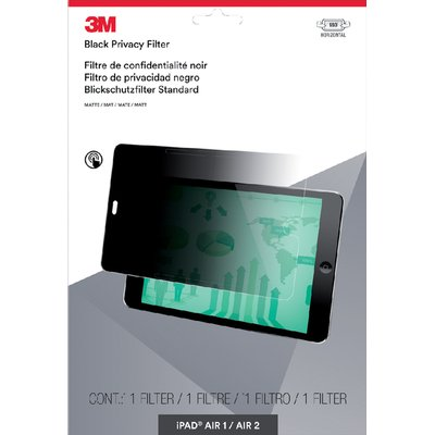 """Privacy filter 3M 9.7"""" liggend iPad Air 1/2/Pro"""