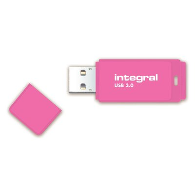 USB-stick 2.0 Integral 32GB neon roze
