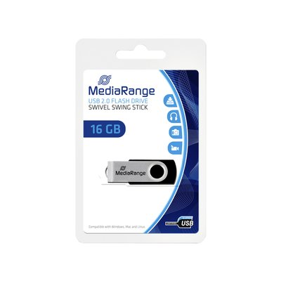 USB-stick 2.0 MediaRange 16GB