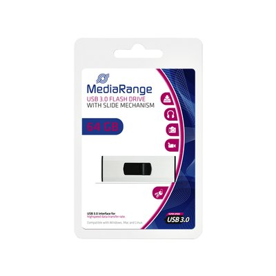 USB-stick 3.0 MediaRange 64GB