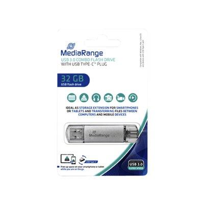 USB-stick 3.0 MediaRange USB-C 32GB