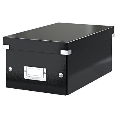 Dvd Box Leitz WOW Click & Store 206x147x352mm zwart