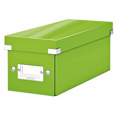 CD-box Leitz WOW Click&Store 143 x 136 x 352 mm groen