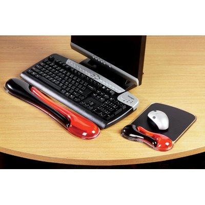 Polssteun toetsenbord Kensington Duo rood/zwart