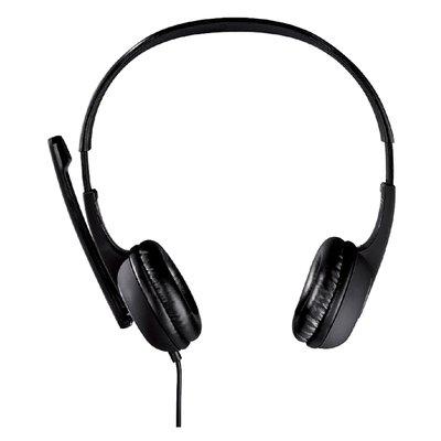 Hoofdtelefoon Hama HS-P150 PC-Office over ear zwart