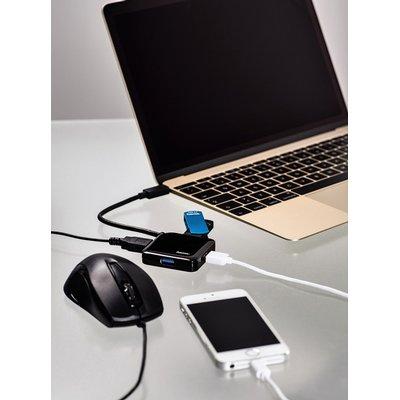 Hub Hama 3.1 USB-C naar USB-A 4x
