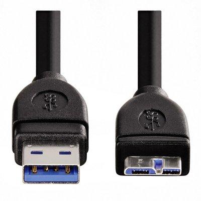 Kabel Hama 3.0 USB-A naar USB-B micro 0,75m