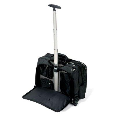 """Laptoptas Trolley Kensington Contour 17"""" zwart"""