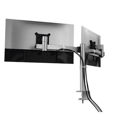 Monitorarm Durable met klem voor 2 schermen