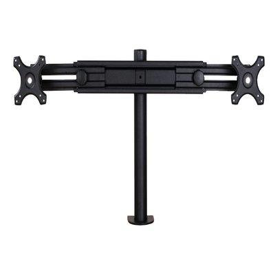 "Monitorarm Neomounts D700D 2x19-30"" met klem zwart"