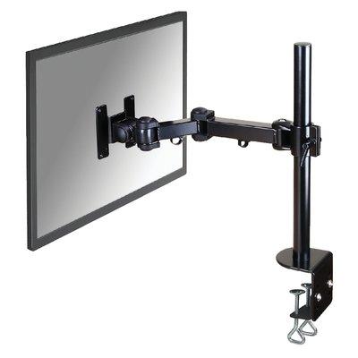 """Monitorarm Neomounts D960 10-30"""" met klem zwart"""