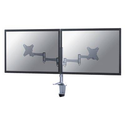 "Monitorarm Neomounts D1330D 2x10-27"" zilvergrijs"