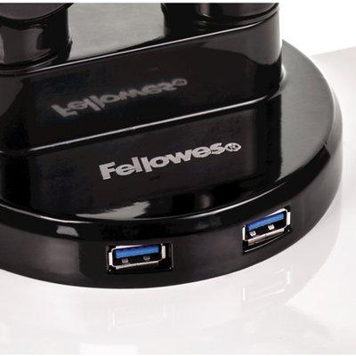 Monitorarm Fellowes Platinum Series dubbel horizontaal