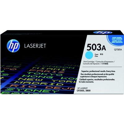Tonercartridge HP Q7581A 503A blauw