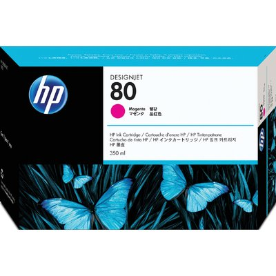 Inktcartridge HP C4847A 80 rood