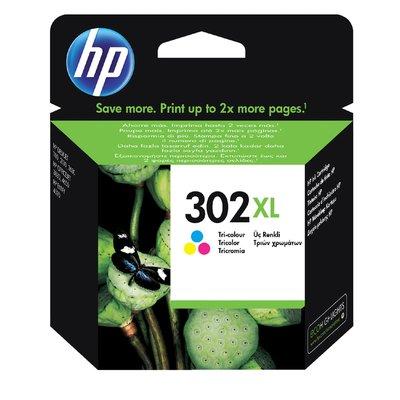 Inktcartridge HP F6U67AE 302XL kleur