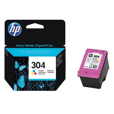 Inktcartridge HP N9K05AE 304 kleur