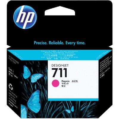 Inktcartridge HP CZ131A 711 rood