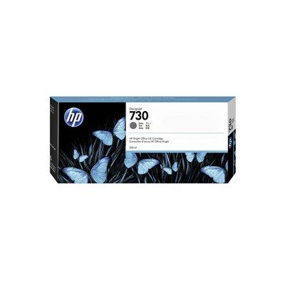 Inktcartridge P2V72A 730 300ml grijs
