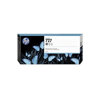 Inktcartridge F9J80A 727 300ml grijs