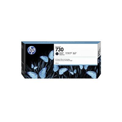 Inktcartridge P2V71A 730 300ml mat zwart