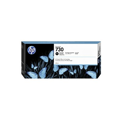 Inktcartridge P2V73A 730 300ml foto zwart
