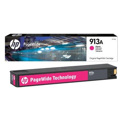 Inktcartridge HP F6T78AE 913A rood