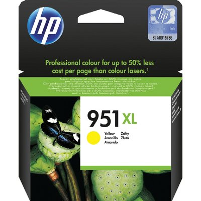 Inktcartridge HP CN048AE 951XL geel HC