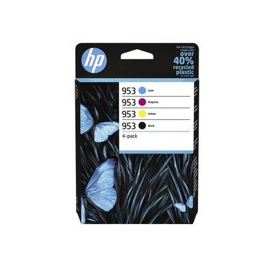 Inktcartridge HP 6ZC69AE 953 zwart + 3 kleuren