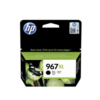 Inktcartridge HP 3JA31AE 967XL zwart HC