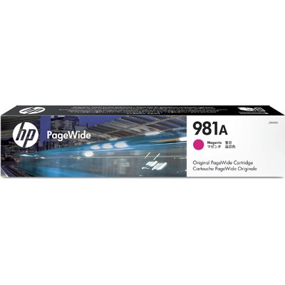 Inktcartridge HP J3M69A 981A rood
