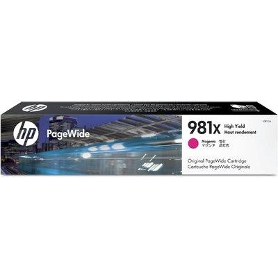 Inktcartridge HP L0R10A 981X rood HC