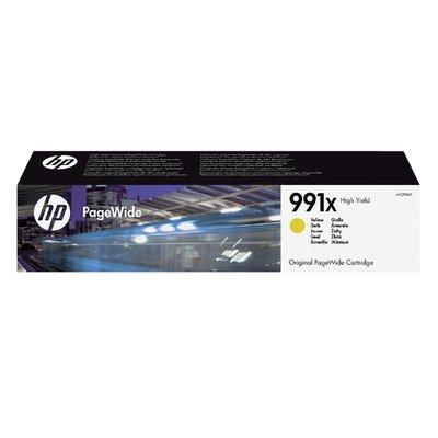 Inktcartridge HP M0J98AE 991X geel HC