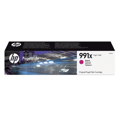 Inktcartridge HP M0J94AE 991X rood HC