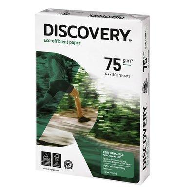 KKopieerpapier Discovery A3 75gr wit 500vel