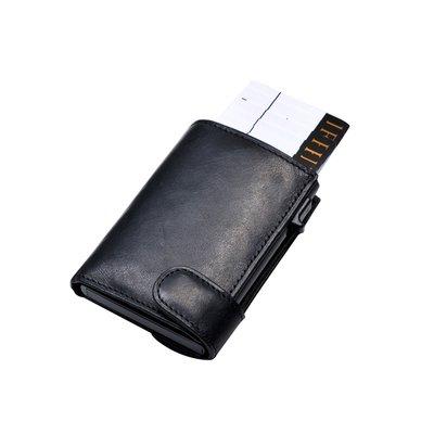 Portemonnee Tony Perotti Furbo RFID leer zwart 2