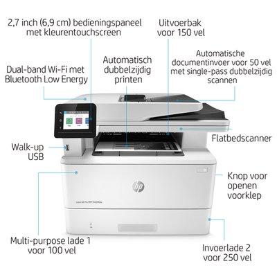 HP zwart-wit laser MFP